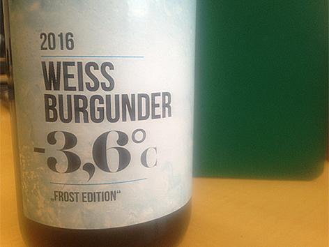 """""""-3,6 Grad""""-Wein"""