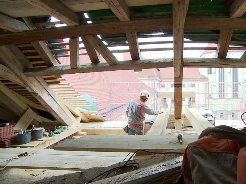 Stift Göttweig Restaurierung Dach