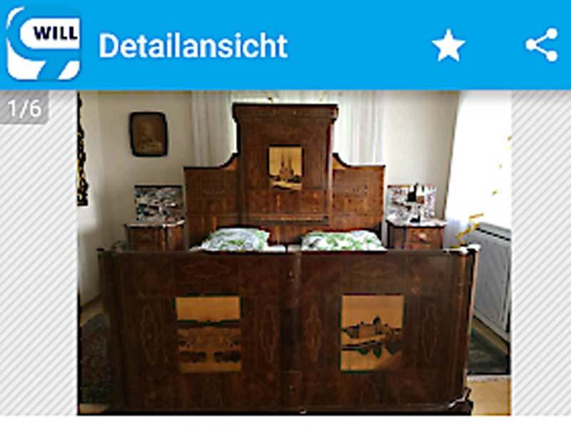 Bett Von Kaiser Karl Für 125000 Euro Wienorfat