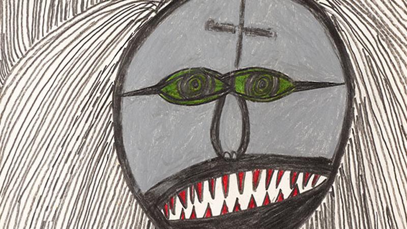 Lentos Psycho Drawing