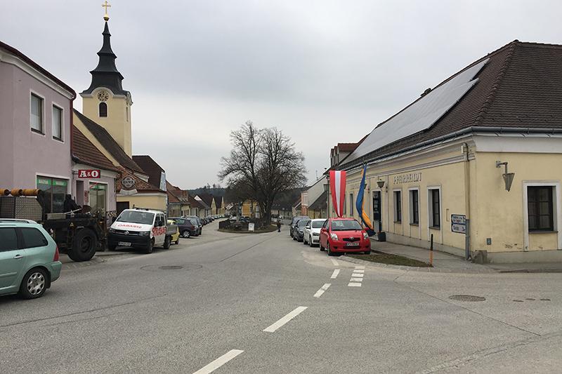 Ortsbild Ludweis-Aigen