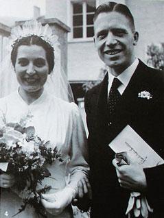 Josef Mayr Nusser und seine Gattin