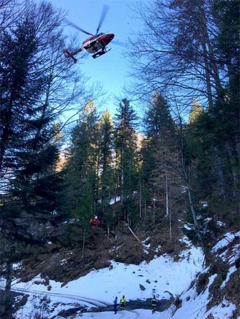 Unfall Brüder Wald Schneebrett Hermagor