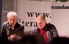 Lesung im Literaturhaus Wien   Ondrej Cikan