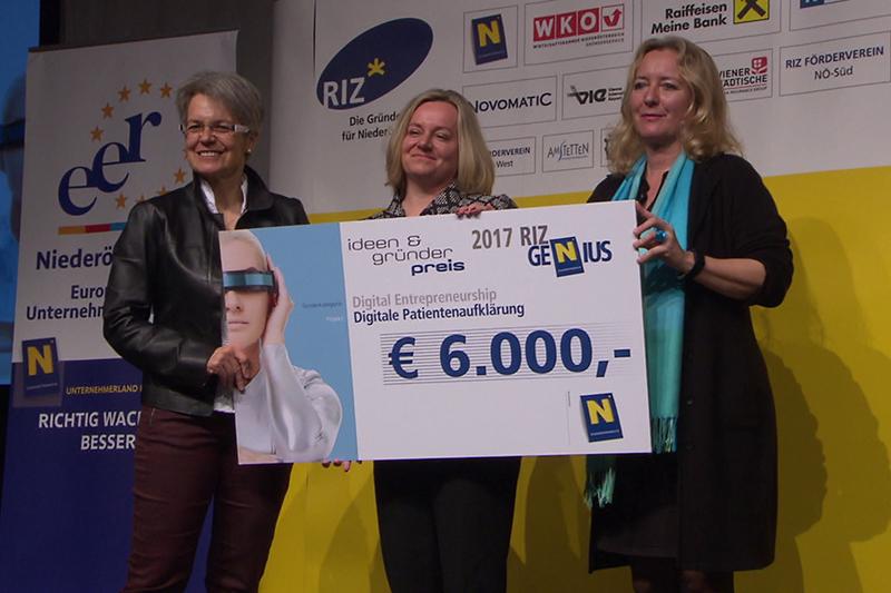 RIZ GENIUS Ideen- und Gründerpreis