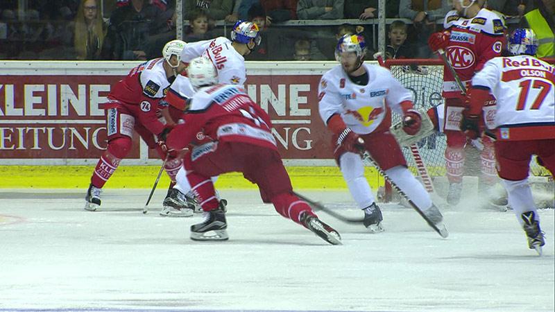 Eishockey Halbfinale Salzburg KAC