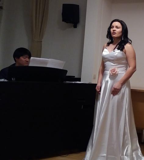 Maria Helienek   Konzert im Österreichisch-slowakischen Kulturverein