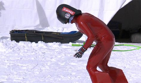 Manuel Kramer Speed Skiing