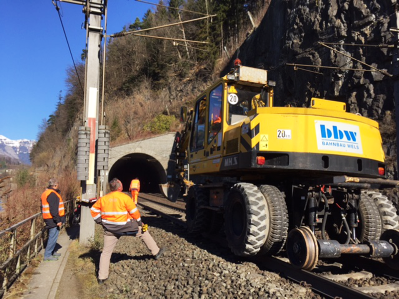 Bau Stadttunnel Feldkirch