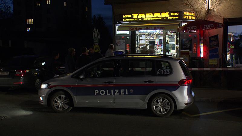 Überfall Trafik Klagenfurt Pischeldorferstraße