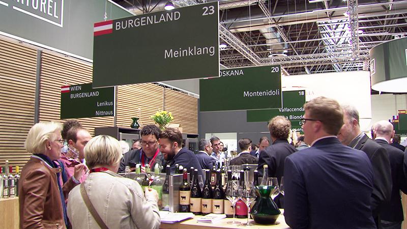 Burgenländer auf der ProWein Düsseldorf Liegenfeld