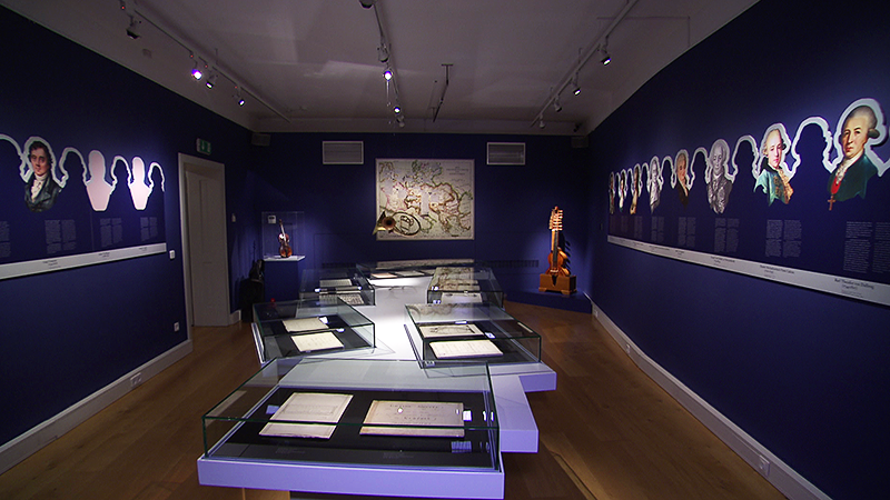 Ausstellung über Haydns Widmungen