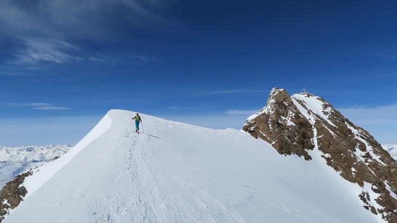 Skitour auf die Weißkugel