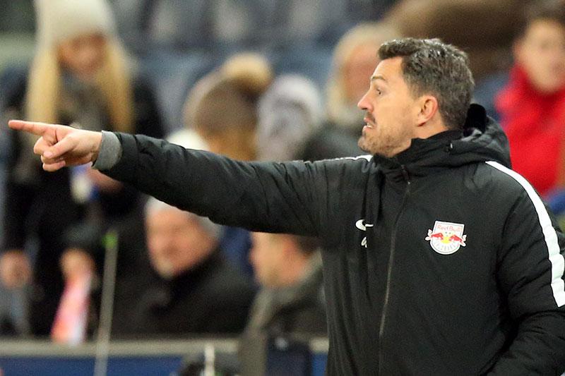 Oscar Garcia als Trainer von Red Bull Salzburg