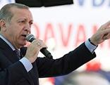 Der türkische Staatschef Recep Tayyip Erdogan