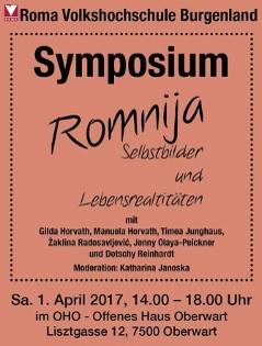 Ankündigung der Romja Tagung