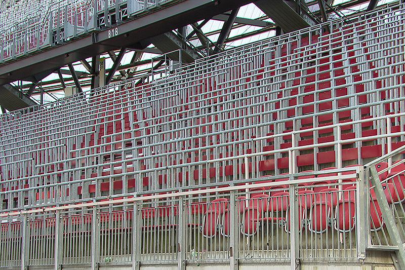 Stadion Sitzreihen