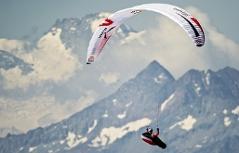 X-Alps 2017 über den Westalpen