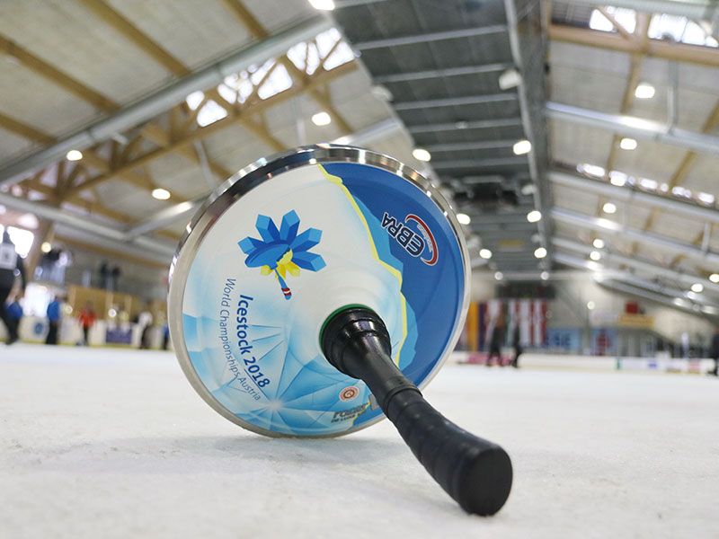 Eisstock WM 2018 Amstetten Winklarn Weltmeisterschaft