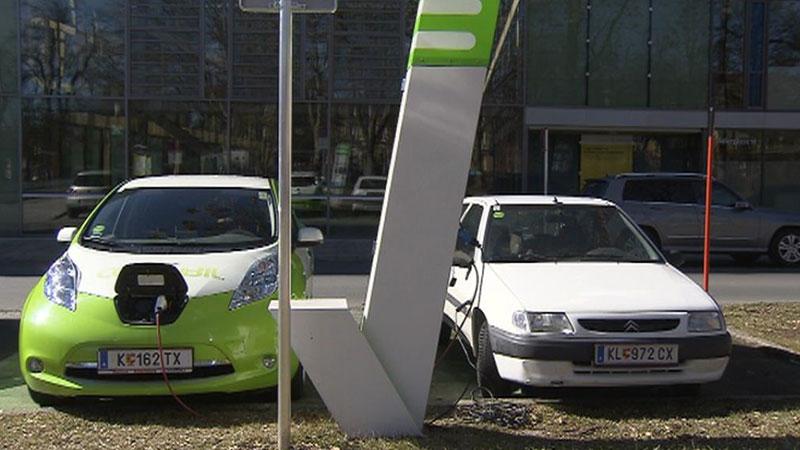 E-Autos Elektrofahrzeug