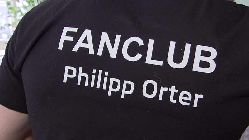 Philipp Orter Empfang