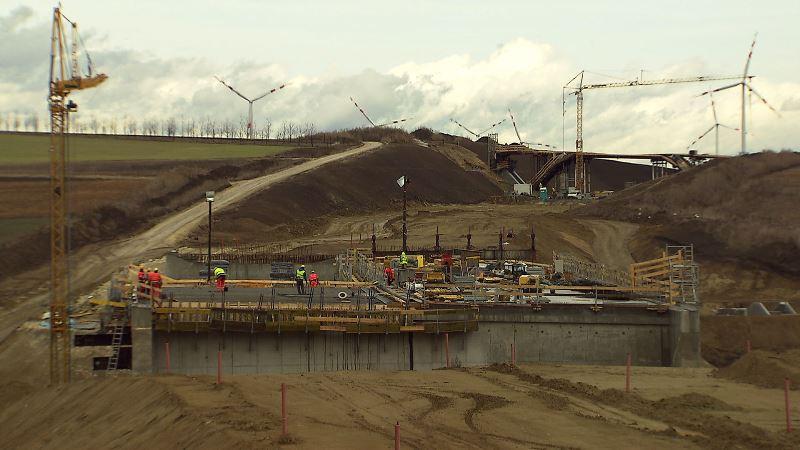 Poysdorf/ Bau Nordautobahn