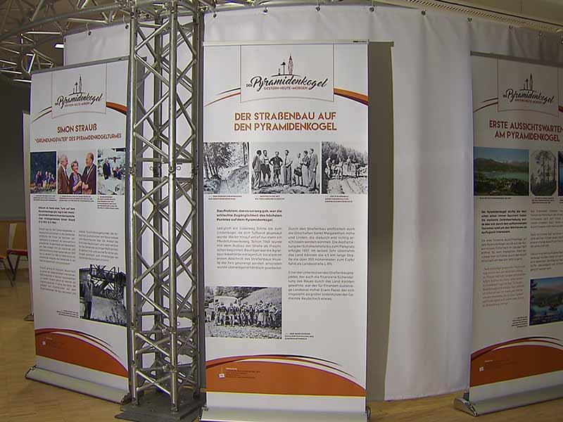 Pyramidenkogel Ausstellung Keutschach Schlossstadel