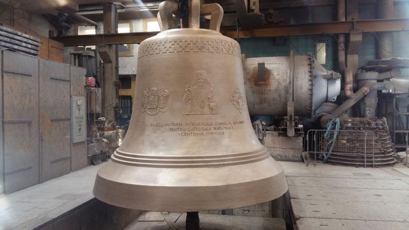 Glocke für die Kathedrale in Bukarest