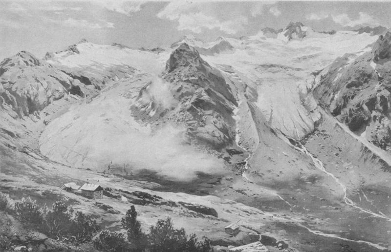 Hornkees im Jahr 1894