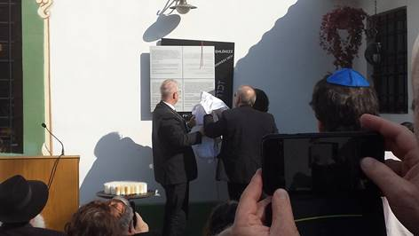 Gedenktafelenthüllung | Restaurant Leberfinger in Bratislava Petrzalka