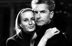 Eliette und Herbert von Karajan