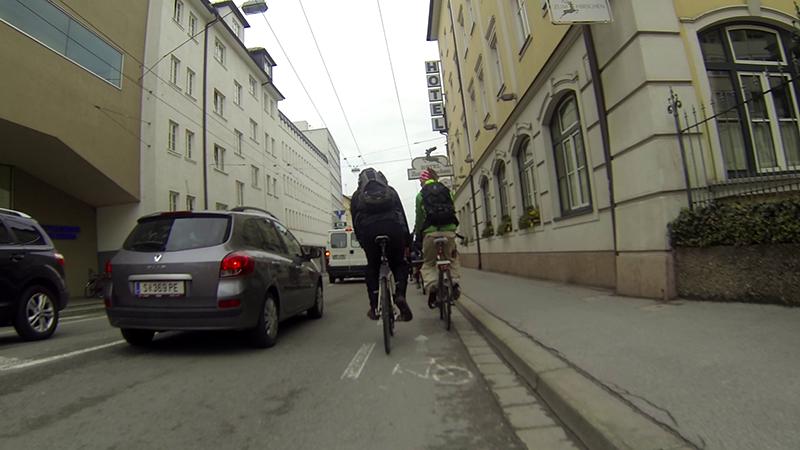 Fahrradwege in Salzburg