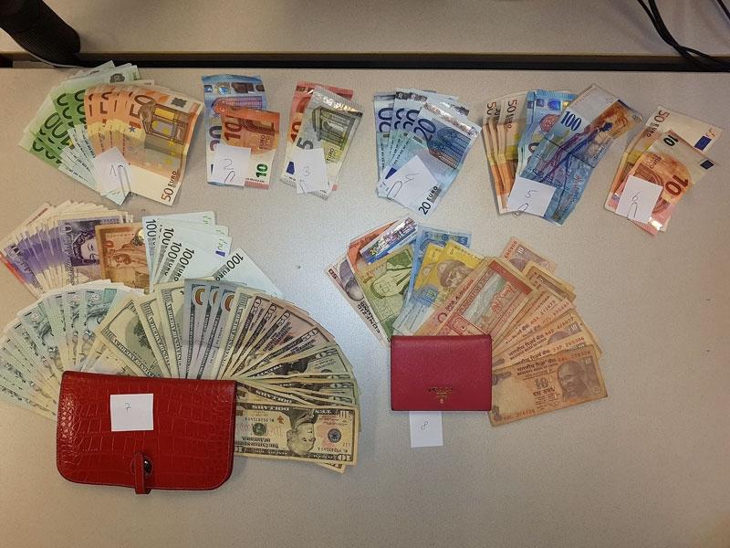 Taschendiebstahl Bande ausgeforscht Bargeld