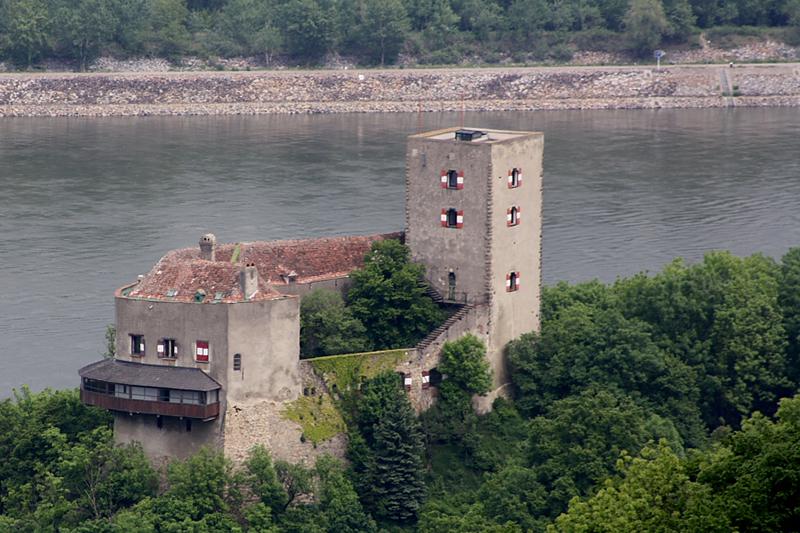 Südwestansicht Burg Greifenstein