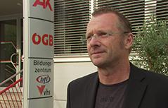 Thomas Finsterwalder  Landesgeschäftsführer Gewerkschaft VIDA