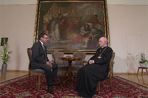 Interview mit Diözesanbischof Klaus Küng