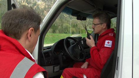 Funk, Rotes Kreuz beim Funken, Einsatz