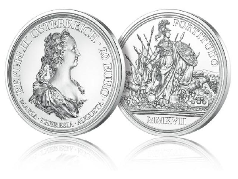 Neuer Maria Theresien Taler Zum Jubiläum Wienorfat