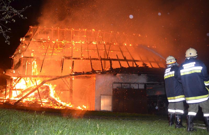 Brandeinsatz in Münzkirchen
