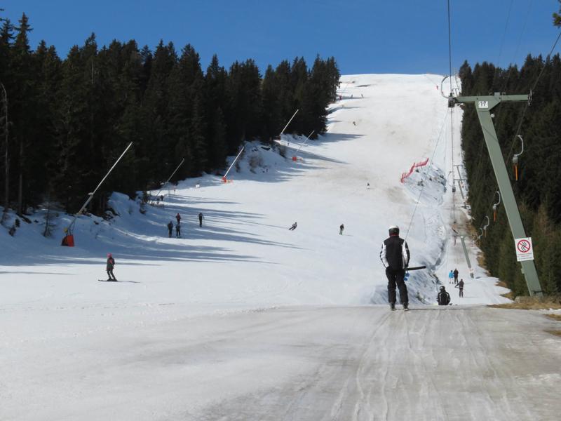 Skifahren am Ranger Köpfl