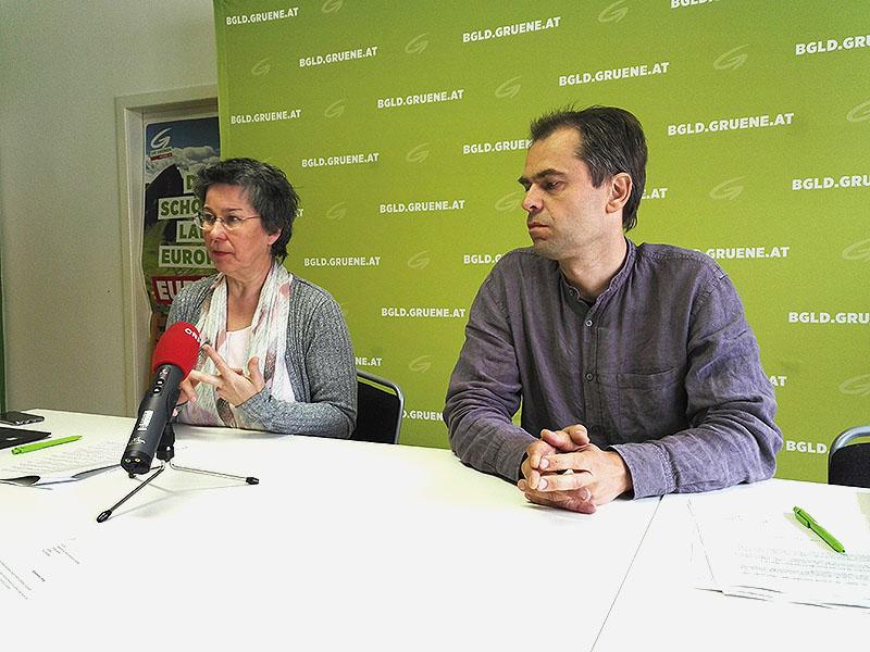 Regina Petrik und Wolfgang Spitzmüller