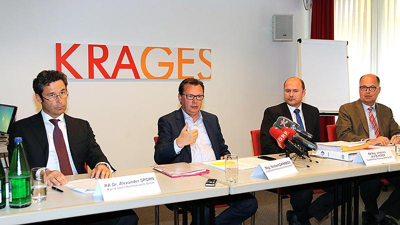 Alexander Sporn, LL.M., LR Mag. Norbert Darabos, RA Mag Johannes Wutzlhofer, LL.M., Mag Richard Kohlhauser