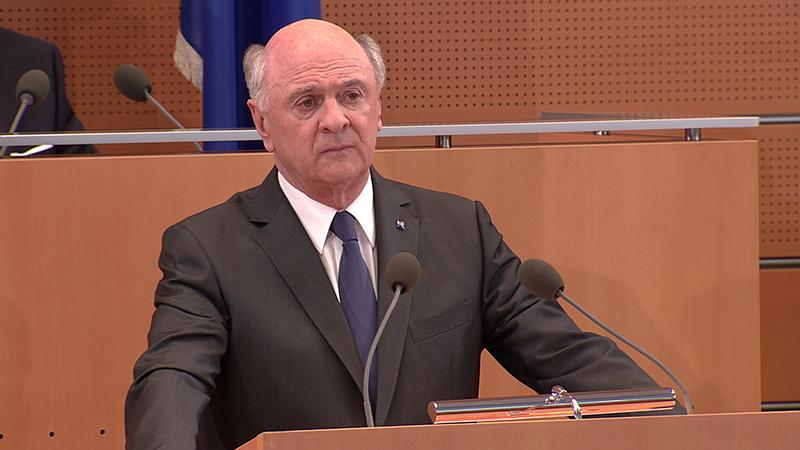 Landtag Landeshauptmann Erwin Pröll