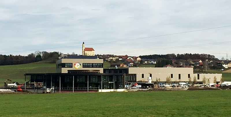 Firmengebäude in Moosdorf im Innviertel