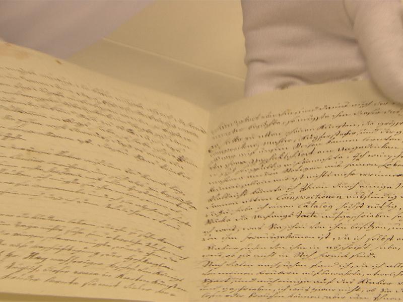 Brief von Nannerl Mozart