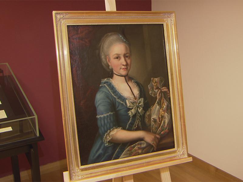 Angebliches Portrait von Nannerl Mozart