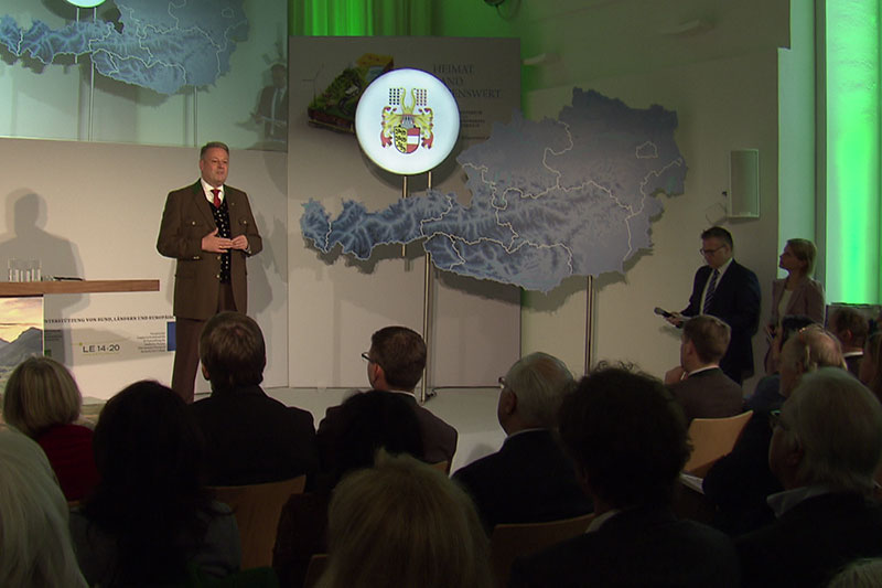 Andrä Rupprechter Bürgermeister Treffen St. Georgen