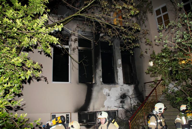 Brand Studentenheim, Baumbachstraße Linz