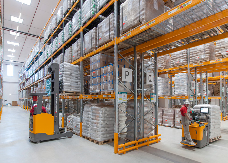 Zaltech International Materiallager