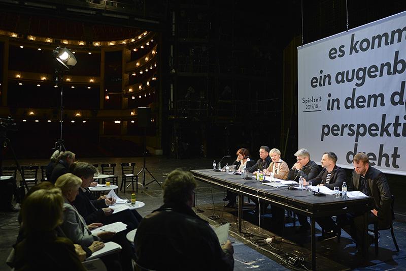 Präsentation Burgtheater Spielzeit 2017/18